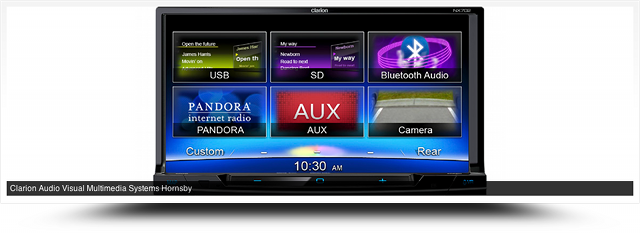 Clarion Audio Visual Multimedia Systems Hornsby